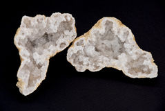 Cut geode Stock Photography