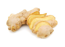 Cut ginger Stock Photos