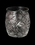 Cut-glass beaker Stock Image