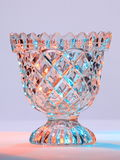 Cut Glass Bowl Royalty Free Stock Photos