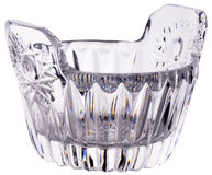 Cut-glass Bowl Royalty Free Stock Photos