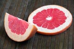 Cut grapefruit Royalty Free Stock Photo