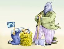 Cut greek Stock Photos