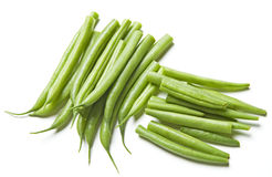 Cut Green Beans Stock Images