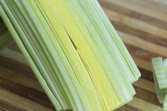 Cut green onion Stock Image