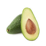 Cut in half avocado fruit composition Royalty Free Stock Photography