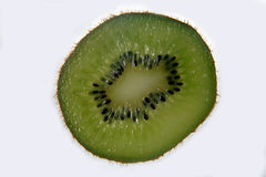 Cut in half kiwi Royalty Free Stock Image