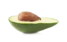 Cut in half open avocado fruit Royalty Free Stock Photo