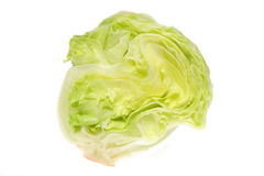 Cut iceberg lettuce Stock Images