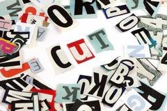 Cut inscription Stock Photos