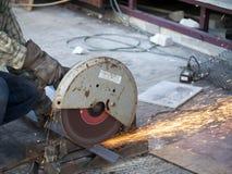 Cut iron Stock Photos