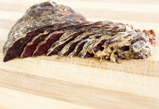 Cut jerky Royalty Free Stock Images