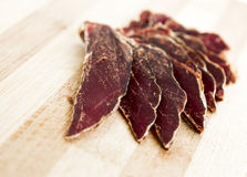 Cut jerky Royalty Free Stock Photos