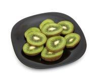 Cut kiwi Stock Photos