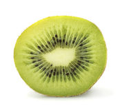 Cut kiwi in closeup. Cut kiwi juicy in closeup Stock Images