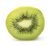 Cut kiwi in closeup Stock Images