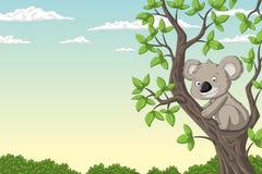 Free Cut Koala On A Tree Stock Photography - 140266702