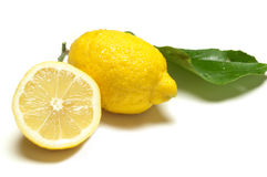 Cut lemon Stock Image