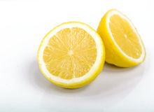 Cut lemon Royalty Free Stock Images