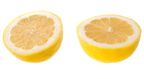 Cut lemon Royalty Free Stock Image