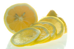 Cut Lemon Royalty Free Stock Photo