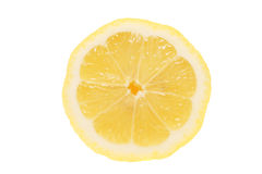 Cut lemon Stock Images
