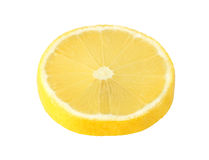 Cut lemon fruits isolated  with clipping path Stock Photography