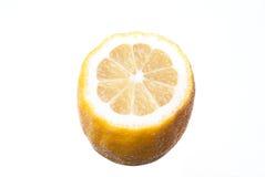 cut lemon isolated on white background, Stock Image