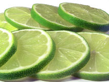 Cut lime Stock Images