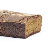 Cut loaf of rye home-baked bread Stock Image