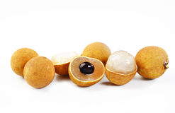 Cut longan Royalty Free Stock Photos