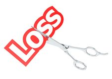 Cut loss Stock Images
