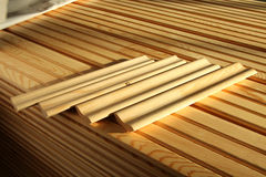 Free Cut Lumber Boards On Side Royalty Free Stock Photo - 70295245
