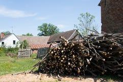 Cut lumber Royalty Free Stock Photo