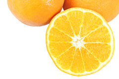 Cut Mandarin Orange. Stock Photography
