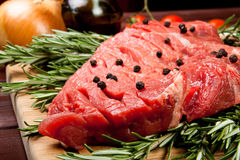 Cut of meat Royalty Free Stock Images