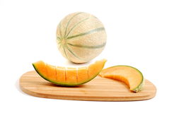 CUT MELON Stock Images