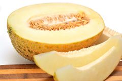 Cut melon Stock Image