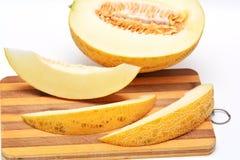 Cut melon Stock Images