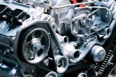 Cut metal engine Stock Photo