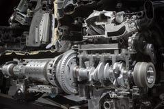 Cut metal engine Royalty Free Stock Photos