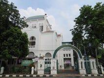 Cut Meutia Mosque in Menteng, Jakarta. Cut Meutia Mosque is a Dutch Colonial building Stock Image
