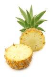 Cut mini pineapple fruit Royalty Free Stock Images