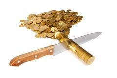 Cut money Royalty Free Stock Photos
