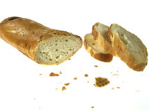 Cut off of baguette Royalty Free Stock Photo