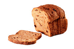Cut off bread Royalty Free Stock Image