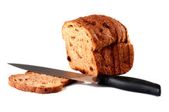 Cut off bread Royalty Free Stock Photo