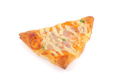 Cut off slice pizza Royalty Free Stock Photography