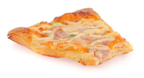 Cut off slice pizza Royalty Free Stock Photo