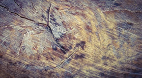 Cut off wood surface background Royalty Free Stock Images